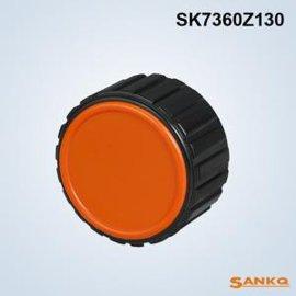 供应SANKQ牌,SK7360Z塑盖铝直纹手轮,铝手轮
