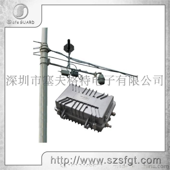防水视频发射机,室外远程监控,油田无线监控