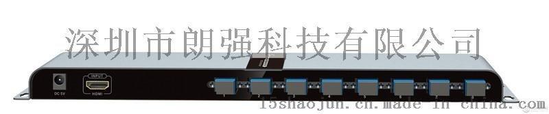 地铁PIS系统10公里1进4出4路HDMI光纤分配器