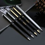 可LOGO定制 金属圆珠笔 高档商务礼品笔 转动广告圆珠笔