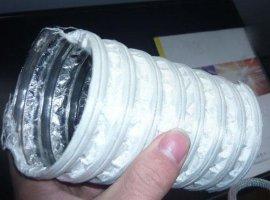 批发内夹复合铝箔纤维风管, 铝箔纤维风管