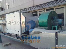 沧州喷漆废气处理设备,光催化氧化废气除臭处理,恒尔森环保用自己的产品说话