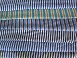 廠家供應絲光棉彩條竹纖維布頭