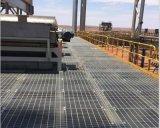 油罐頂平臺應用鋼格柵板作爲平臺踏步