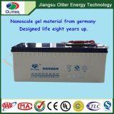 太陽能路燈用長壽命高低溫性能卓越12v200ah膠體蓄電池