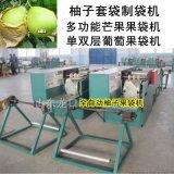 製造柚子套袋紙袋成型機械(文旦柚套袋機)