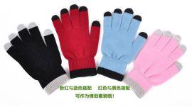 5指触屏手套-厂家直销-可以定做