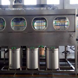 厂家直销QGF-450全自动矿泉水桶装水灌装生产线 纯净水灌装机