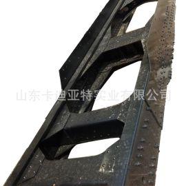 陕汽德龙车架大梁(德龙F2000车架大梁总成)厂家 价格 图片
