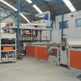 金韋爾PVC寬幅地板革、防水卷材生產線 PVC防水板設備