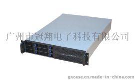 冠翔2U-R206热插拔服务器机箱 2U热插拔机箱 NVR存储非标定制机箱