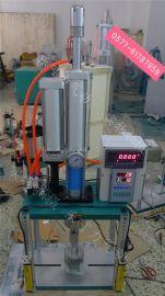 桌上型气动压力机|带压力传感器压力冲床|3吨气液增压冲床|四柱气压冲床