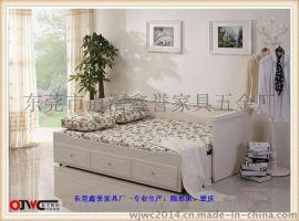 我居我潮定制WJWC2210*875*700抽桶式功能三位沙发床