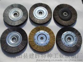 厂家供应钢丝压片式钢丝刷