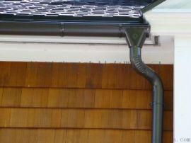 内蒙古彩铝落水系统 天沟落水 PVC落水系统生产厂家