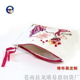 定制 棉布袋 学生笔袋定做超市环保购物袋折叠袋服装袋礼品袋