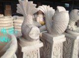 砂岩园林雕塑 砂岩园林雕塑摆件 喷水鱼砂岩园林雕塑摆件厂家
