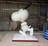 广州直销高档大气玻璃钢史努比