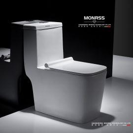 坐便器,蒙诺雷斯6852陶瓷马桶,连体座便器