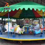 户外儿童游乐设备豪华转马 适合广场游乐设备豪华转马