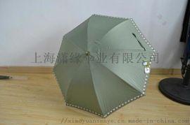 女士晴雨伞、紫外线防护率超高、两节式可伸缩伞杆设计、伞面立体绣花、小巧精致又不失大气