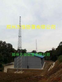 35米避雷塔,GFL1-15钢结构避雷针塔