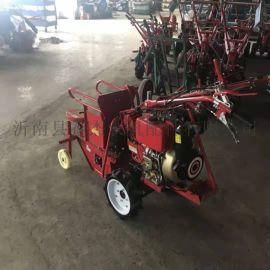 手扶玉米收割机 新款坐骑式柴油玉米收获机