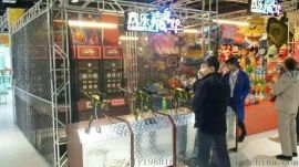 商場遊樂設備16毫米口徑遊樂炮打靶機