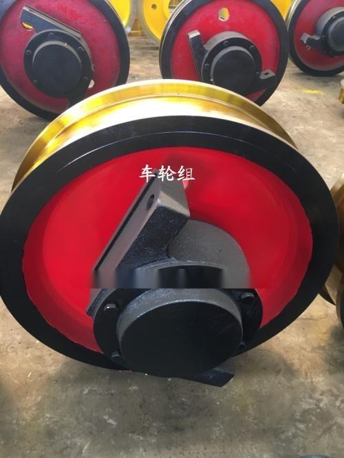 車輪組圖紙,工廠直銷,φ600被動車輪組,雙邊車輪組,地樑用車輪組,起重機車輪組