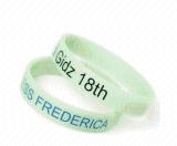 夜光手環工廠定製體育運動手環絲印NBA矽膠手環印刷熱銷橡膠籃球手環