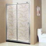 淋浴房玻璃 新款艺术手法 工艺夹丝浴室玻璃 透光不透明