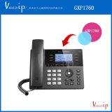 潮流网络GXP1760新一代中高端多线路IP语音话机