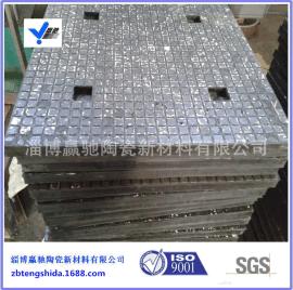 赢驰专业生产电厂、洗煤厂用氧化铝耐磨陶瓷橡胶复合板