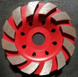 加厚涡轮结块金刚石碗磨厂家金刚石磨盘