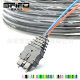 HCS200/230μm光纖光纜 CF2071光纖連接器 接頭