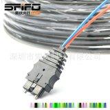 HCS200/230μm光纤光缆 CF2071光纤连接器 接头