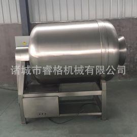 真空滚揉机 不锈钢400型真空腌制机肉类食品滚揉机