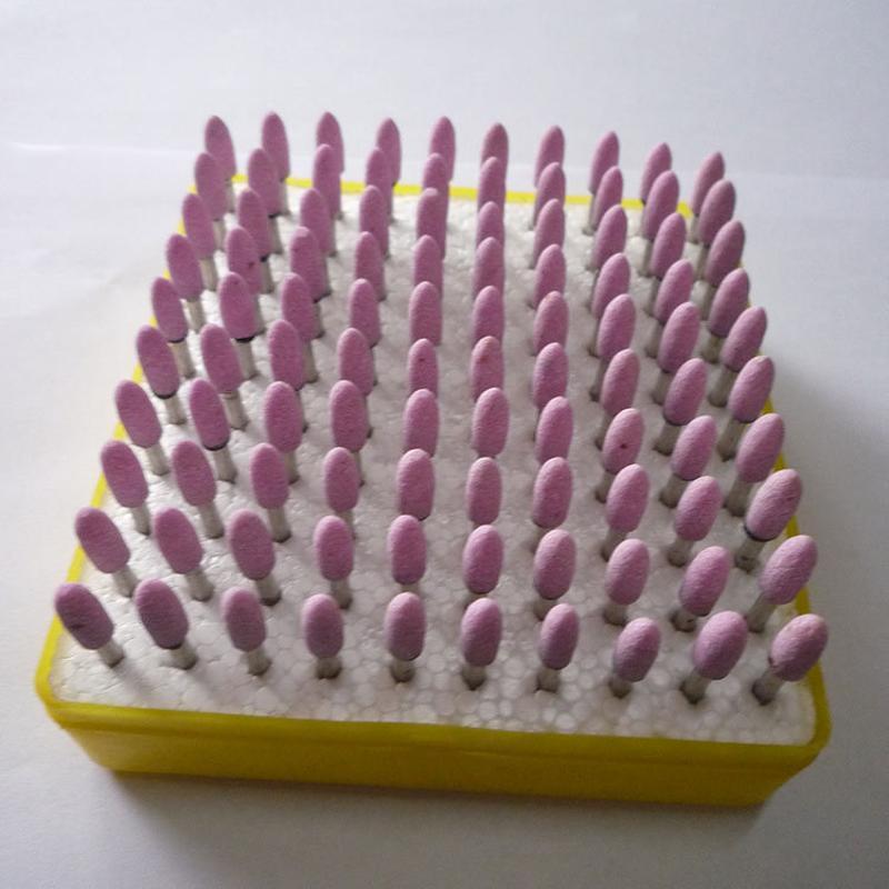 鉻剛玉帶柄小磨頭 各種規格材質砂輪磨頭 磨具