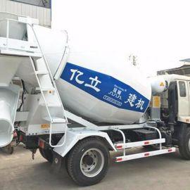 小型搅拌车,亿立6m3混凝土罐车,混凝土搅拌罐,厂家供应