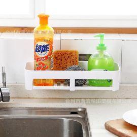 無痕置物架廚房衛浴廚房免打孔收納架**置物架