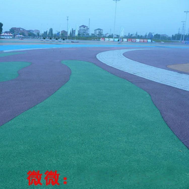 彩色生態透水混凝土路面施工工藝