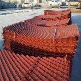 外架鋼笆網鋪設 建築踩踏毛竹笆網