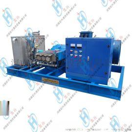 换热器冷凝器锅炉管道高压清洗机 三相电动高压清洗机