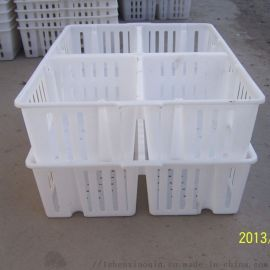 塑料家禽用鸡苗运输箱 雏禽周转筐子