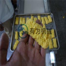 鸡肉洋葱圈裹粉机,GFJ鱿鱼圈上糠设备,上粉机