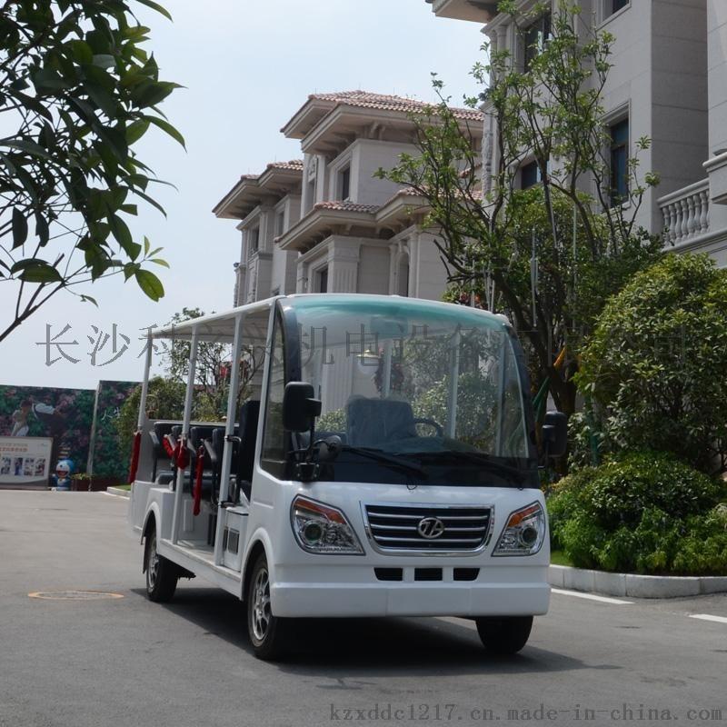 14座燃油观光车景区旅游汽油观光车楼盘看房燃油车