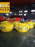 聚乙烯塑料警示航標水面警示標誌浮標廠家