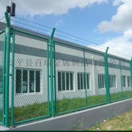 铁路钢板网护栏-钢板网防护栅栏-浸塑钢板网护栏