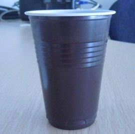 一次性PS黑白塑料咖啡杯