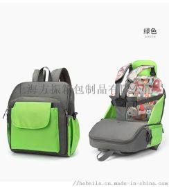 上海定制多功能妈咪包 餐椅包 母婴包工厂供应